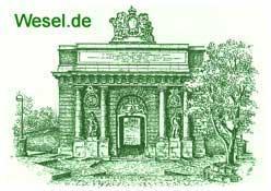 Startseite der Stadt Wesel